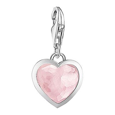 Buy Thomas Sabo Rose Quartz Heart Charm