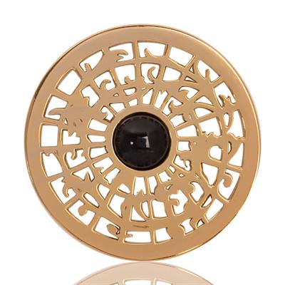 Buy Nikki Lissoni Gold Centre of the World Coin 33mm