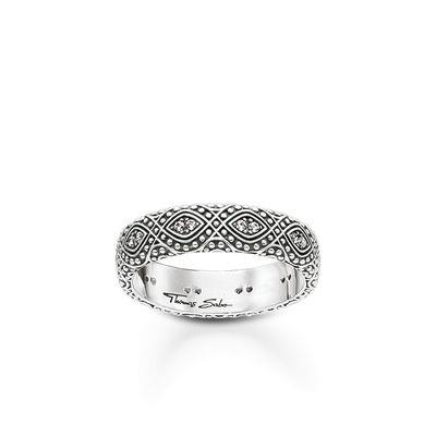 Buy Thomas Sabo Glam & Soul CZ Ornamentation Ring 52