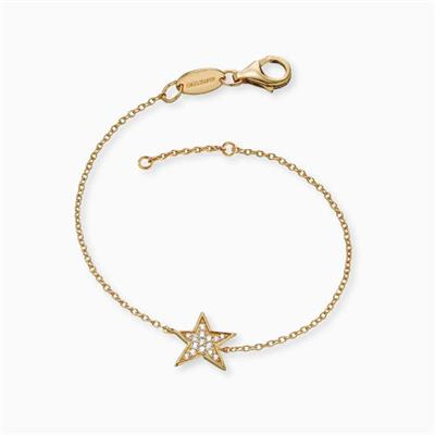 Buy Engelsrufer Gold CZ Star Bracelet