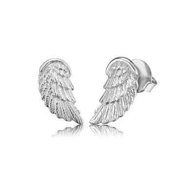 Buy Engelsrufer Silver Angel Wing Studs