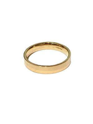 Buy Precious Gems 9ct Gold Men's Wedding Ring Size T 1/2