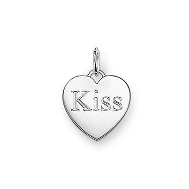 Buy Thomas Sabo Sterling Silver Kiss Pendant