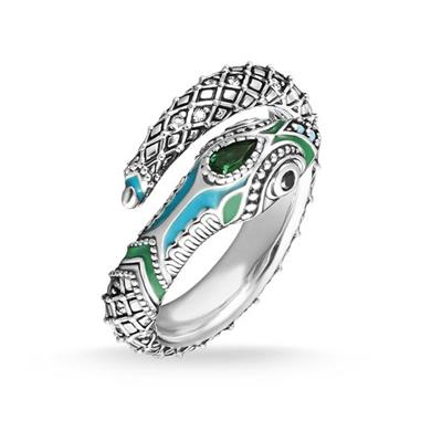 Buy Thomas Sabo Multi CZ Snake Ring 54