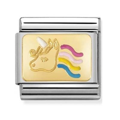 Buy Nomination Gold Unicorn Charm