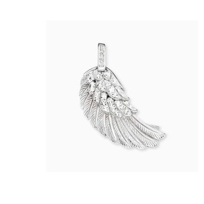 Buy Engelsrufer Silver CZ Angel Wing Pendant Medium