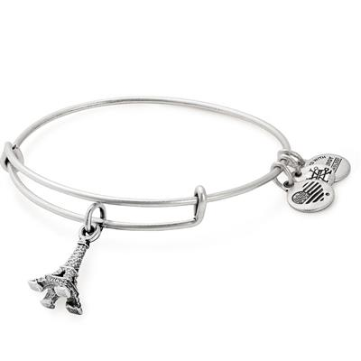 Buy Alex and Ani Eiffel Tower Bangle in Rafaelian Silver