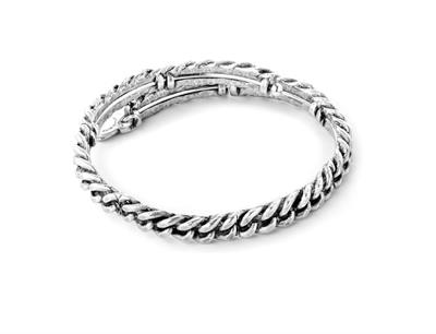 Buy Alex and Ani Eve Wrap in Rafaelian Silver