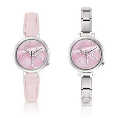 Buy Rose Interchangeable Nomination Watch