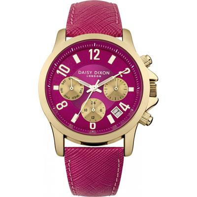 Buy Daisy Dixon Adriana Multidial with Fuchsia Leather Strap
