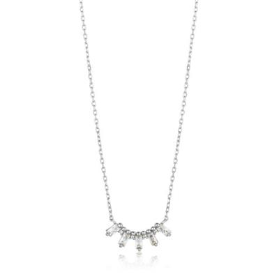 Buy Ania Haie Silver CZ Glow Necklace