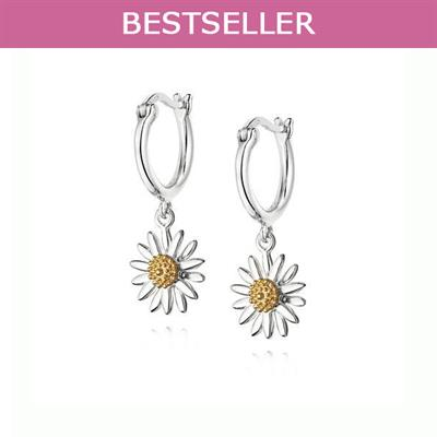 Buy 10mm Daisy Drop Earrings