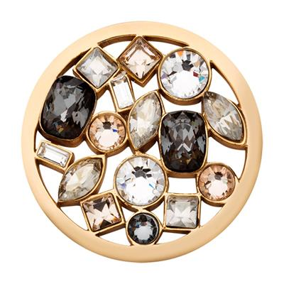 Buy Nikki Lissoni Gold Swarovski My Treasury Coin 33mm