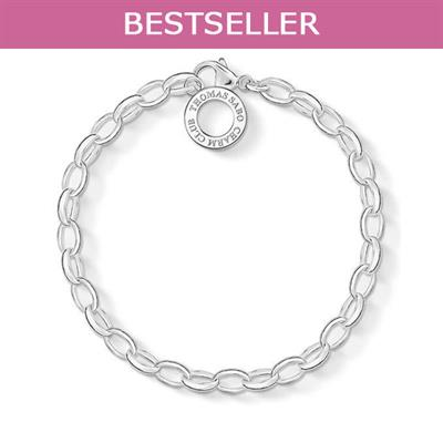 Buy Thomas Sabo Belcher Charm Bracelet, Medium