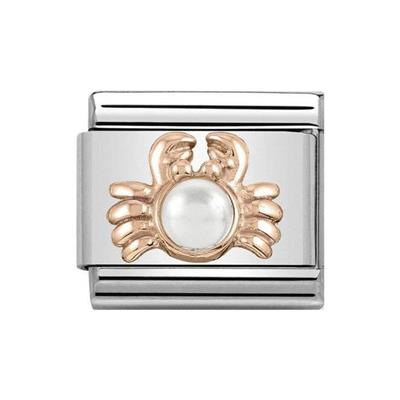 Buy Nomination Classic Rose Gold Symbols Crab Charm