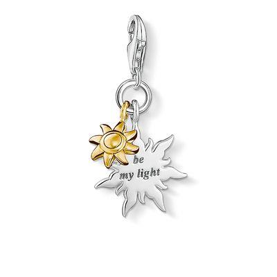 Buy Thomas Sabo Silver and Gold Sun Cluster Charm
