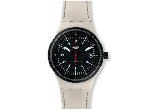 Buy Swatch Sistem Cream Watch