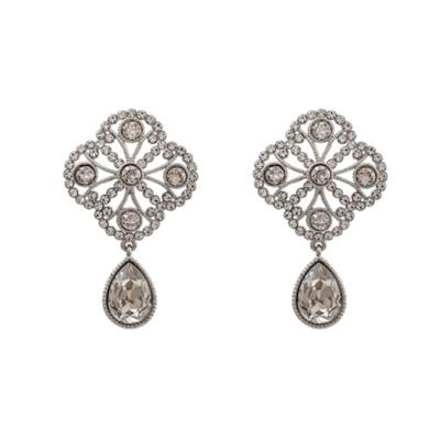 Buy Lily and Rose Miss Lola Silver Crystal Earrings