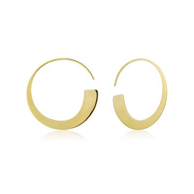 Buy Ania Haie Geometry Class Gold Hoop Earrings