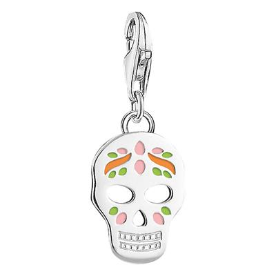 Buy Thomas Sabo Enamel Sugar Skull Charm