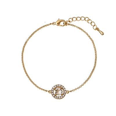 Buy Lily and Rose Miss Miranda Gold Silk Bracelet