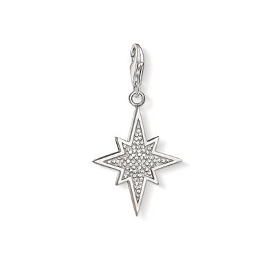 Buy Thomas Sabo Silver CZ North Star Charm