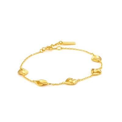 Buy Ania Haie Gold Crush Discs Bracelet