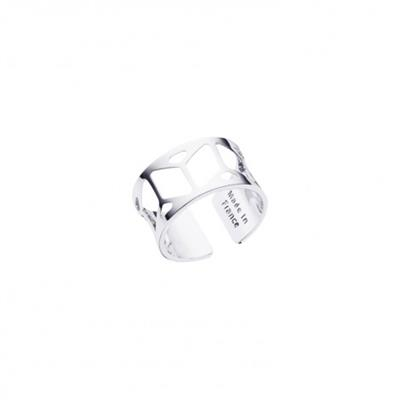 Buy Les Georgettes Silver Resille Ring 58