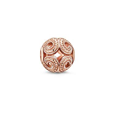 Buy Thomas Sabo Wave Rose Gold Karma Bead