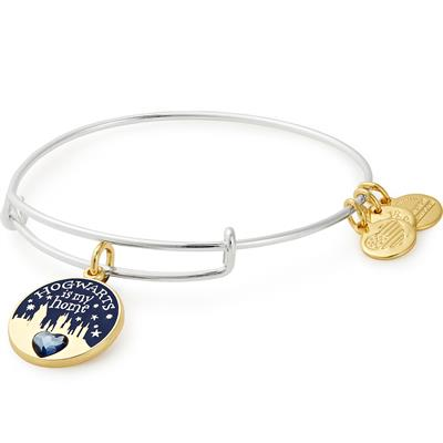 Buy Alex and Ani Harry Potter Two-Tone Hogwarts Is My Home Bangle