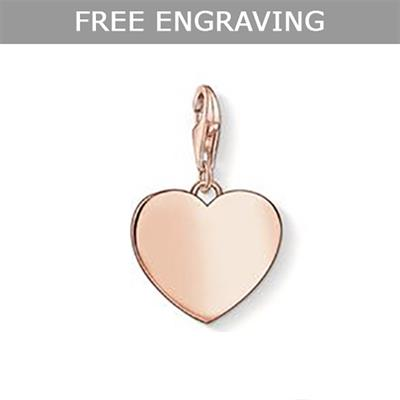 Buy Thomas Sabo Rose Gold Heart Charm