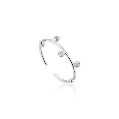 Buy Ania Haie Sterling Silver Shimmer Stud Ring