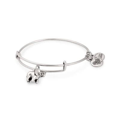 Buy Alex and Ani Elephant Bangle - Rafaelian Silver