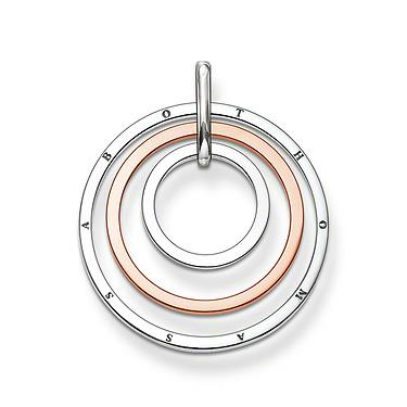 Buy Thomas Sabo 3 Circle Two-Tone Pendant