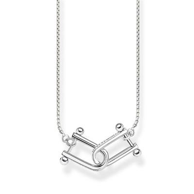 Buy Thomas Sabo Silver Iconic Link Necklace 45cm