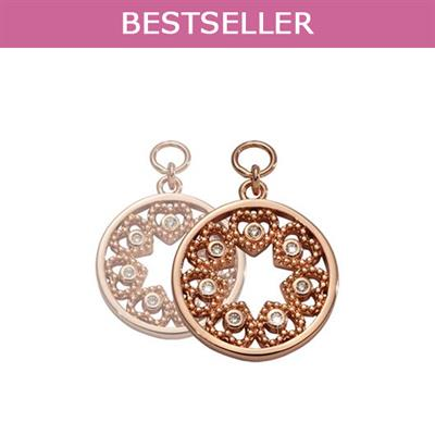 Buy Nikki Lissoni Rose Gold Counting Love Stars Earring Coins