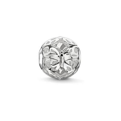 Buy Thomas Sabo Filigree Butterfly Karma Bead Sterling Silver