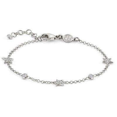 Buy Nomination Sterling Silver CZ Triple Star Bracelet