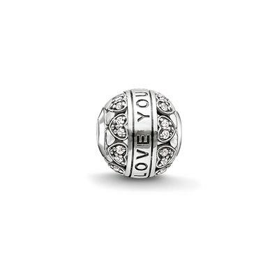 Buy Thomas Sabo I Love You CZ Karma Bead