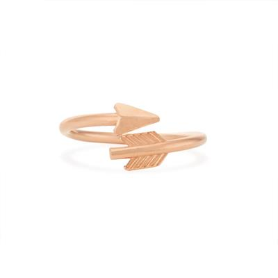 Buy Alex and Ani Lovestruck Arrow Ring in Rose Gold