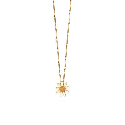 Buy Gold Marguerite Daisy Vintage Necklace20