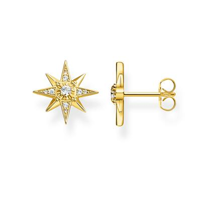 Buy Thomas Sabo Gold Royalty Star Studs