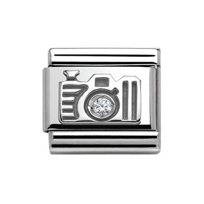 Buy Nomination Silver CZ Camera