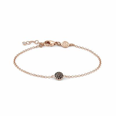 Buy Nomination Rose Gold Gioie Black Bracelet