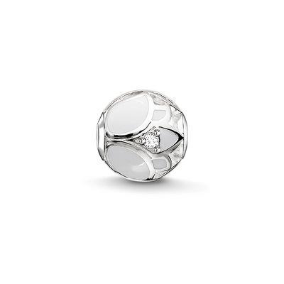 Buy Thomas Sabo White Lotus Karma Bead