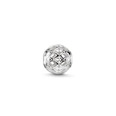 Buy Thomas Sabo Filigree Squares Karma Bead Sterling Silver