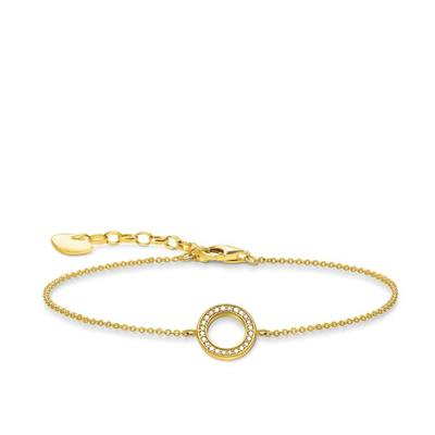Buy Thomas Sabo Gold CZ Circle Bracelet