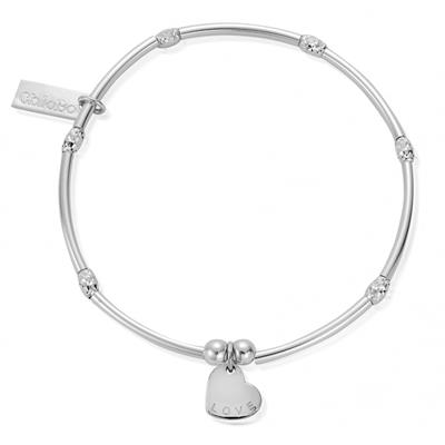 Buy ChloBo Mini Noodle Sparkle Rice Love Heart Bracelet