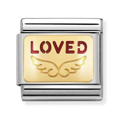 Buy Nomination Gold Loved Wings Charms