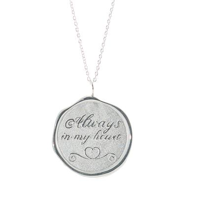 Buy Tokens Of Love Always in my heart Necklace